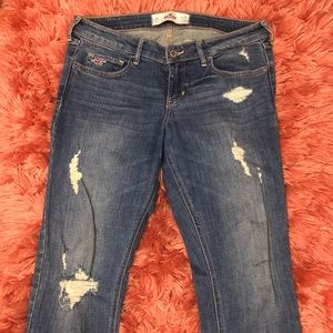 Hollister jeans size 9